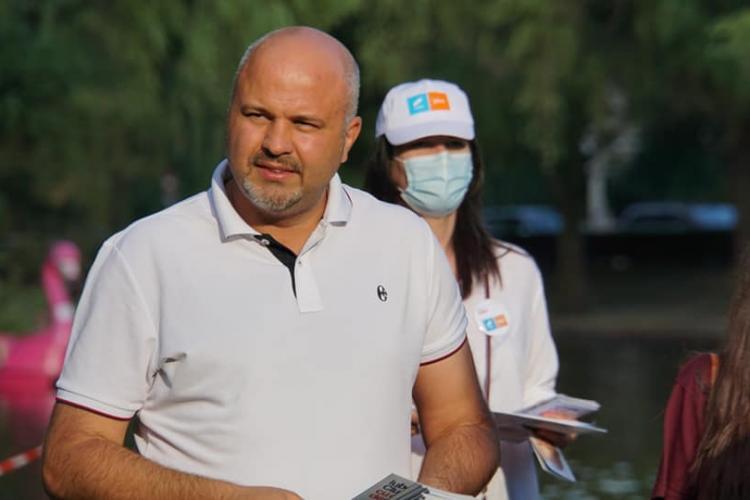 Emanuel Ungureanu, deputat USR PLUS Cluj, spune că la ora actuală  USR și PLUS sunt mai despărțite ca niciodată