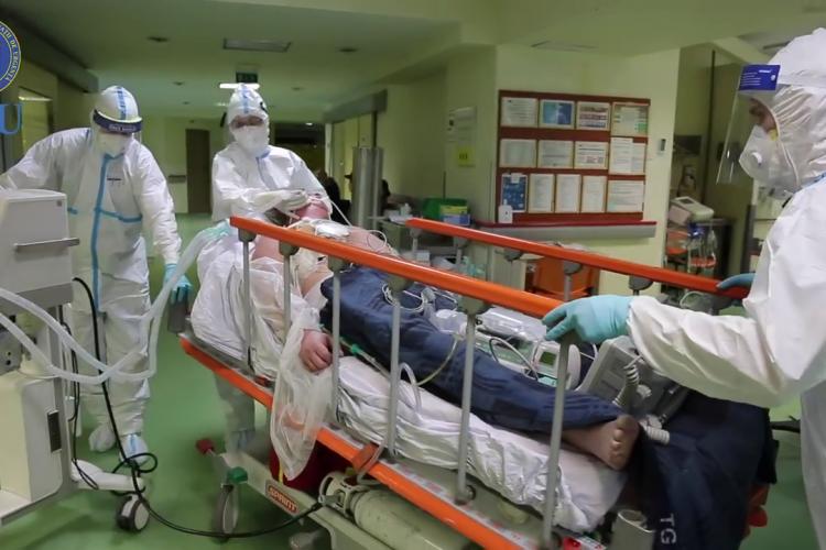 Clujul e aproape de o incidență record a cazurilor COVID-19