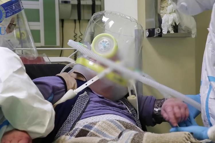 40 de bolnavi COVID, internați la Terapie Intensivă. Nu mai este loc la ATI în Cluj