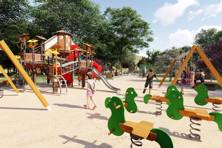 """O avere pentru modernizarea parcului """"14 Iulie"""" din cartierul Grigorescu"""