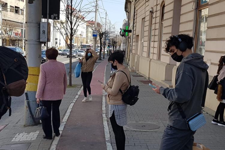 Rata de infectare în Cluj-Napoca, în continuă creștere. La cât a ajuns miercuri incidența?