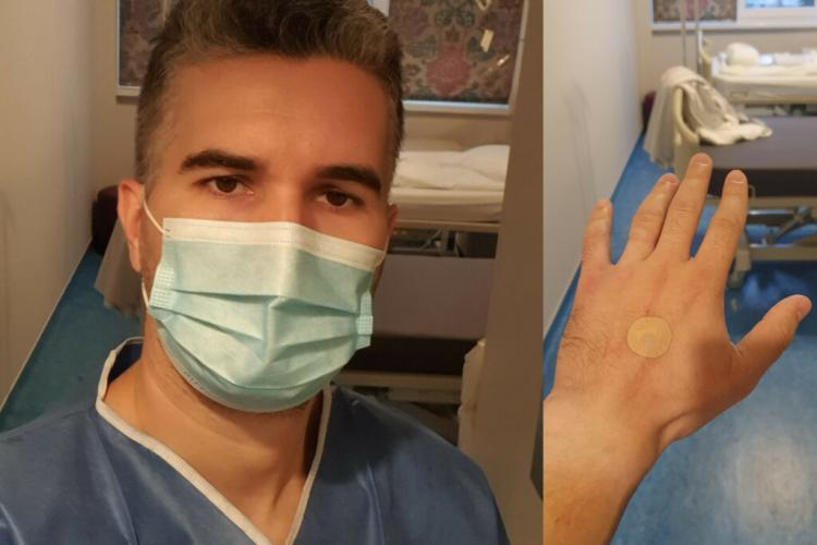 Un bărbat care asista la nașterea soției a fost la un pas să fie operat de apendicită