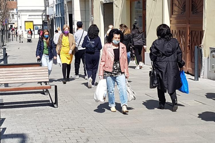 Rata de infectare crește în Cluj-Napoca, Dej, Gherla, Turda, Florești și Apahida