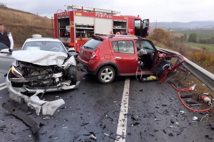 Accident rutier mortal între localitățile Izvorul Crișului și Păniceni - FOTO
