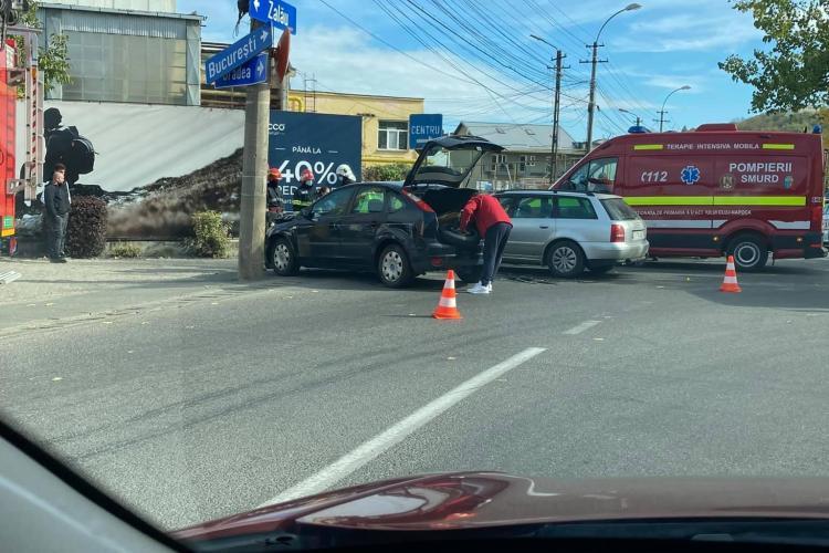 Accident cu 2 răniți pe Tăietura Turcului - FOTO
