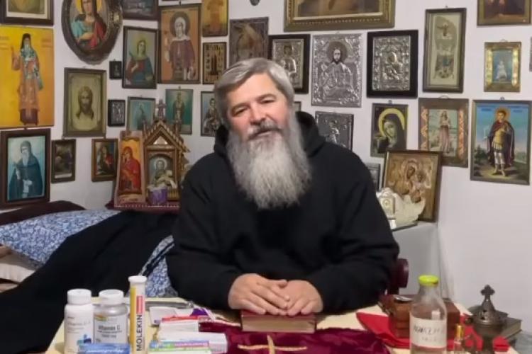"""Părintele Vasile Ioana, infectat cu COVID: """"Puteți să treceți prin boală fără să ajungeți la spital!"""""""