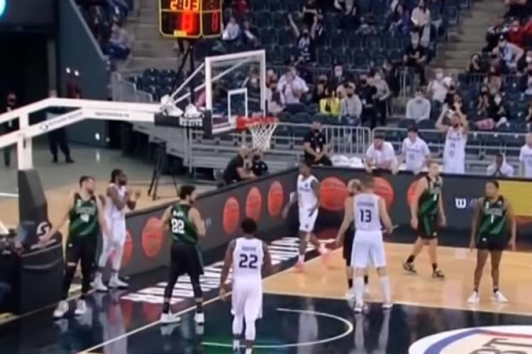 U Banca Transilvania a obținut prima victorie în Basketball Champions League - VIDEO
