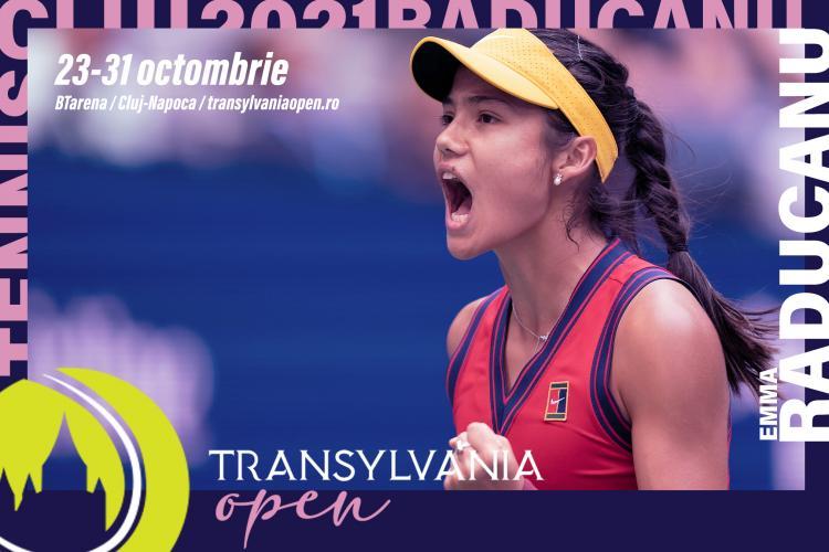 Jucătoare de top pe tabloul principal al Transylvania Open WTA 250. Emma Răducanu vine la Cluj