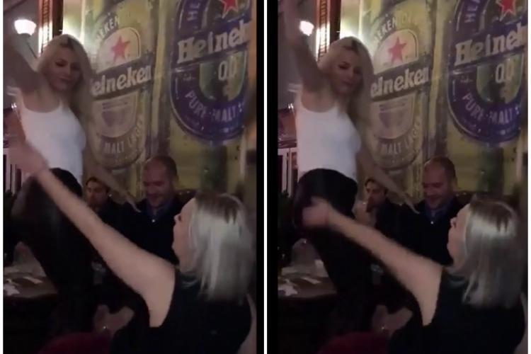 Chef al PNL Cluj în București, cu dansuri pe masă și lovituri peste fund, după alegerea lui Florin Cîțu - VIDEO EXCLUSIV