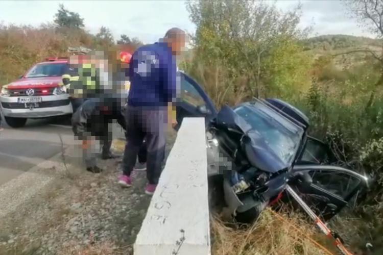 Accident mortal la Cluj, în comuna Vultureni - FOTO