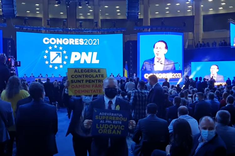 Premierul Florin Cîțu, huiduit la Congresul PNL - VIDEO