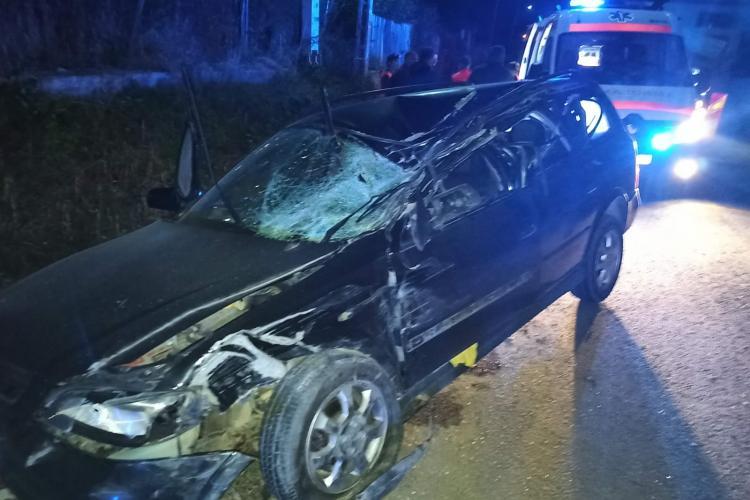 Accident mortal la Cluj! Șofer strivit de un vehicul agricol - FOTO