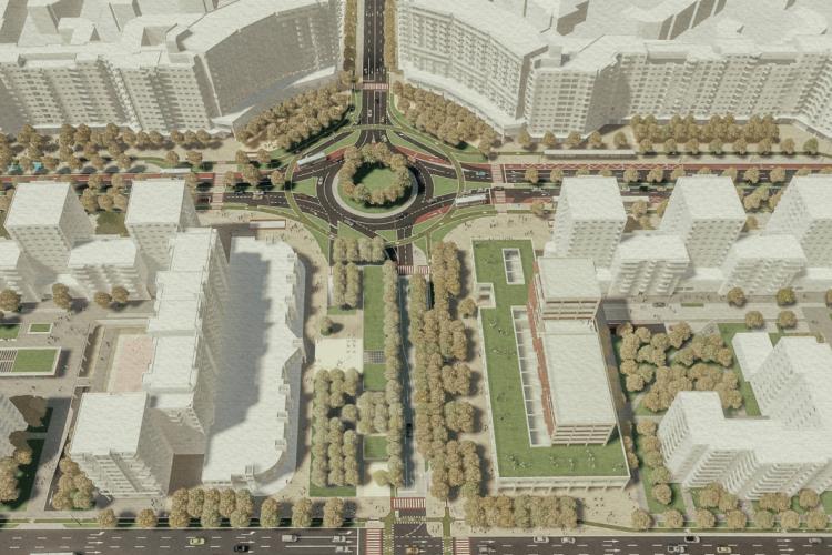 Plan de reamenajare a Pieței Mărăști: Vor apărea parkinguri subterane și supraterane - FOTO