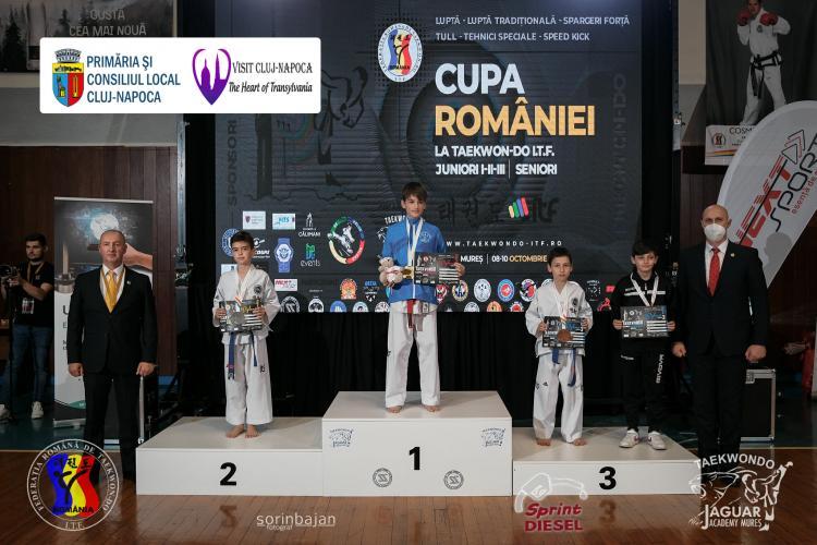 Grupul ACS Delta MMA Cluj a obținut 22 de medalii la Cupa României la Taekwon-do ITF