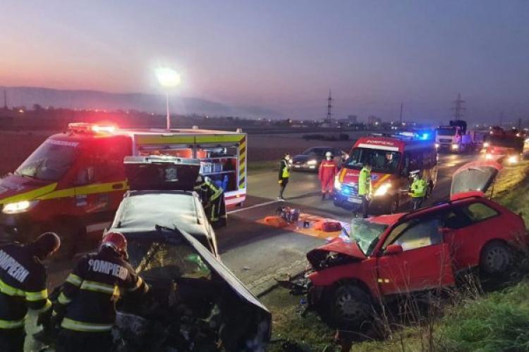 Accident grav pe DN1, în județul Alba. O persoană a murit și alte două sunt rănite
