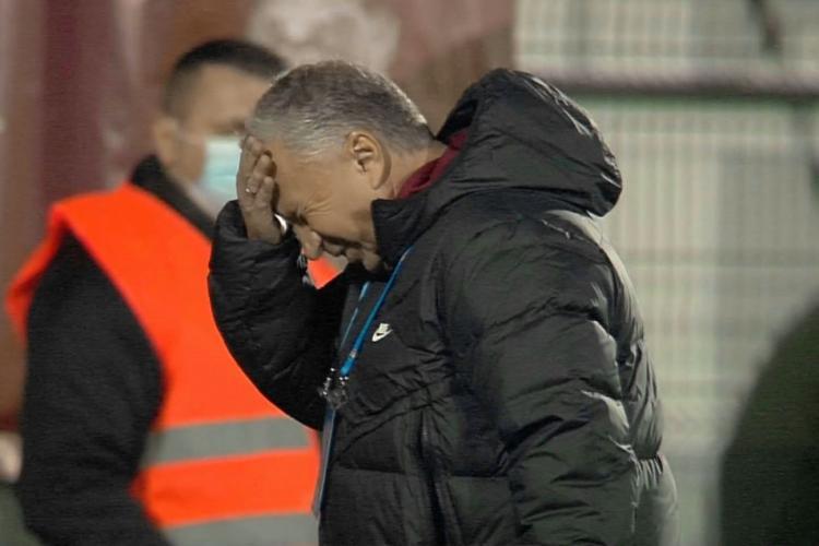 CFR Cluj învinsă de Rapid cu scorul 2-0. Deac: Ne-am dorit mai puțin victoria