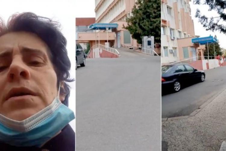 Femeia care a spus că spitalul este gol într-un live pe Facebook este cercetată penal