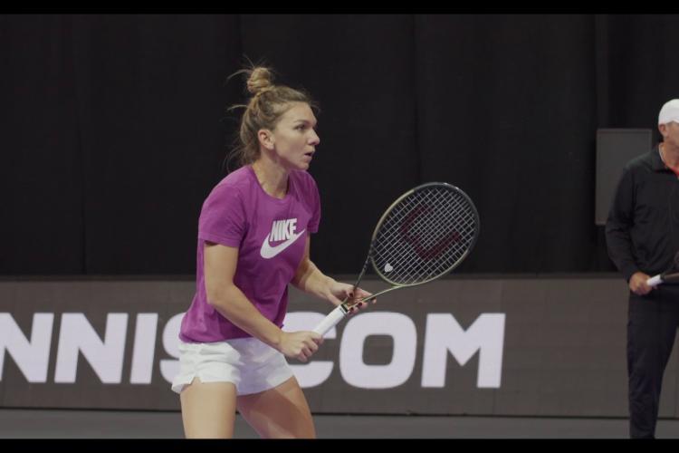 Simona Halep, discurs de senzație la Cluj, după victoria la tenis