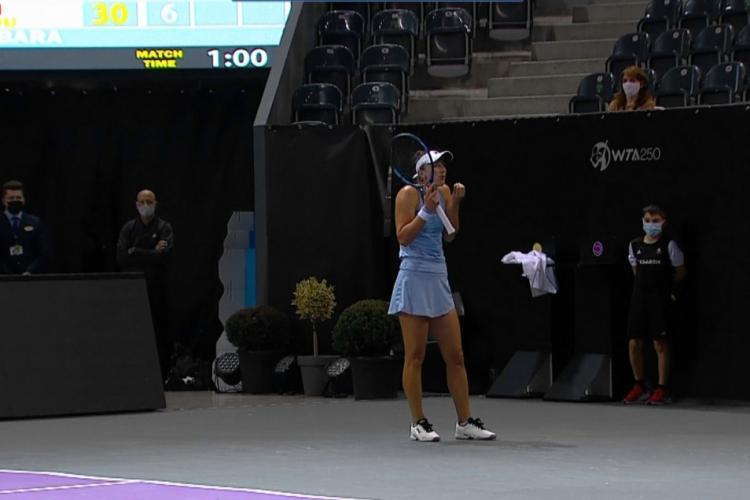 """Irina Begu, reacție nervoasă justificată la Transylvania Open: """"Nu puteți să vedeți o minge, mă?"""""""