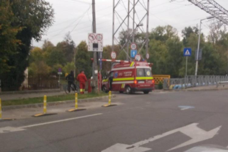 În Clujul smart, bariera de pe strada Mamaia a fost pusă prea jos și nu încap Ambulanțele - FOTO