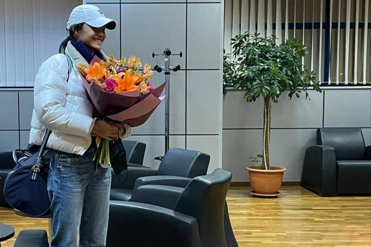 Emma Răducanu, primită ca o vedetă la Cluj de oficialii turneului de tenis - VIDEO
