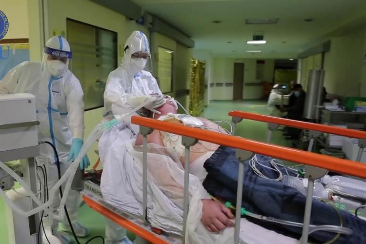 Reportaj din INFERNUL de la Spitalul de Boli Infecțioase Cluj. Pacient: M-aș vaccina de 4 ori, nu de două ori - VIDEO