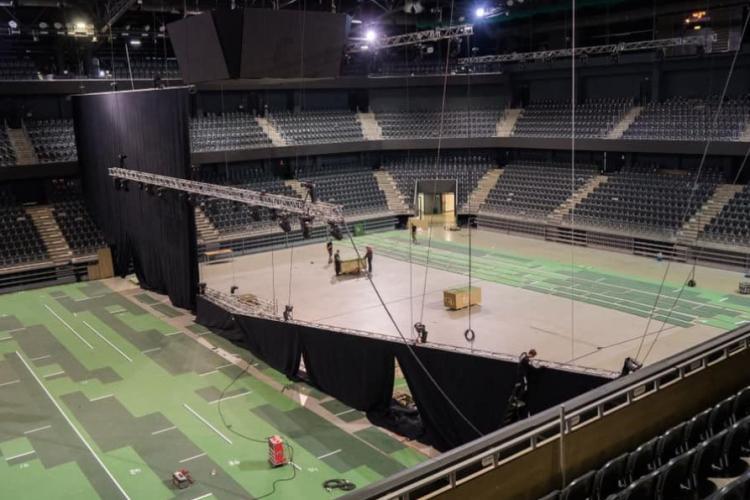 Arena BT din Cluj-Napoca, gata să le primească pe Simona Halep, Emma Răducanu și Garbine Muguruza: cum arată sala acum - FOTO