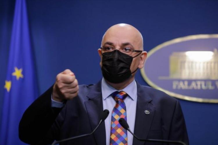 """Raed Arafat: """"Aş tăia microfonul la toţi care dezinformează şi spun oamenilor să nu se vaccineze"""