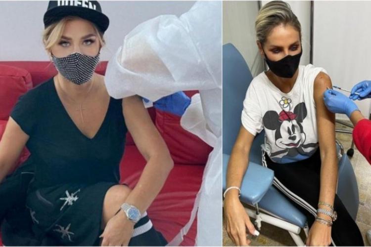"""Loredana şi Andreea Bănică s-au vaccinat cu a treia doză împotriva COVID. """"Singura soluție pentru a termina pandemia"""