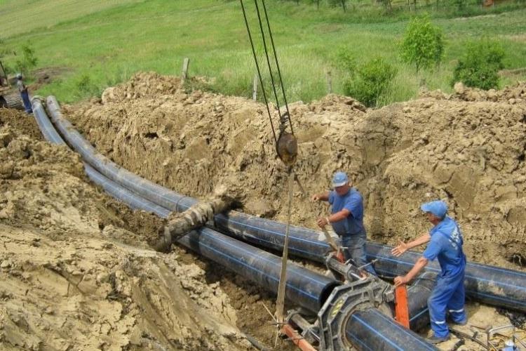 Se extinde rețeaua de apă și canalizare din Apahida, Baciu, Feleacu și Florești