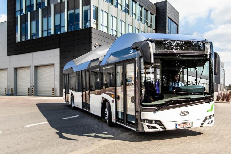 Un autobuz cu hidrogen va fi testat pe drumurile din Cluj-Napoca - VIDEO