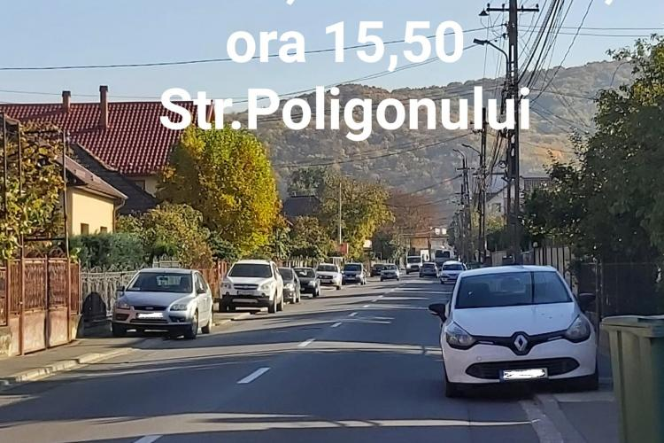Cluj: Pe unde circulă pietonii, când trotuarele ajung parcări pentru mașini? - FOTO
