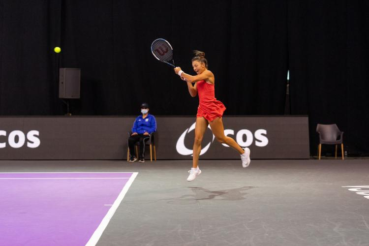 Jaqueline Cristian, victorie mare la Transylvania Open. Ultimele două seturi au fost dramatice - FOTO