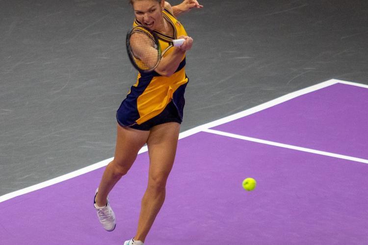 Simona Halep a câștigat la Cluj, deși a avut probleme de sănătate: Am luptat pentru că sunt acasă - FOTO