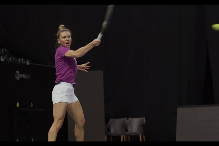 Transylvania Open: Simona Halep a câștigat categoric meciul cu Gabriela Ruse