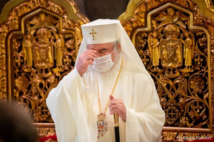 """Patriarhul Daniel a transmis un îndemn la respectarea """"cu strictețe"""" a sfatului medicilor în privința COVID"""
