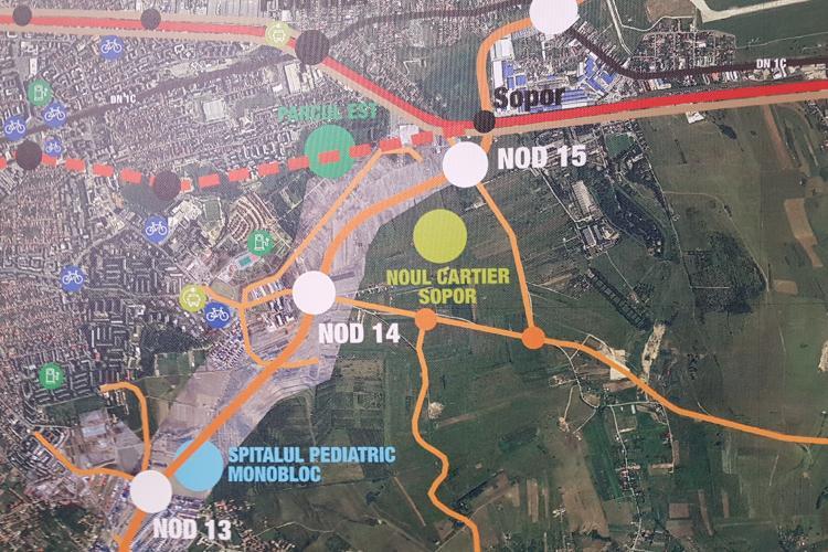 Centura Metropolitană a Clujului înaintează, dar lent. Indicatorii tehnico-economici apar numai în martie 2022