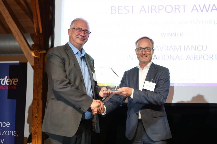 Aeroportul Internațional Cluj - cel mai bun Aeroport din Europa la categoria sub 5 milioane de pasageri