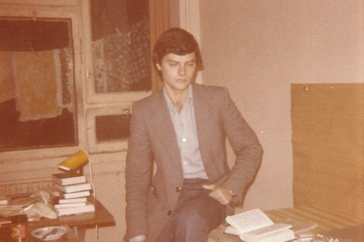 Amintirile unui student grec la Cluj, din anii 80! Vorbește încă foarte bine românește și are numai cuvinte de laudă - FOTO