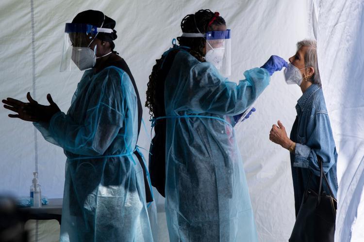 În Florești scade rata de infectare, iar în Cluj-Napoca crește