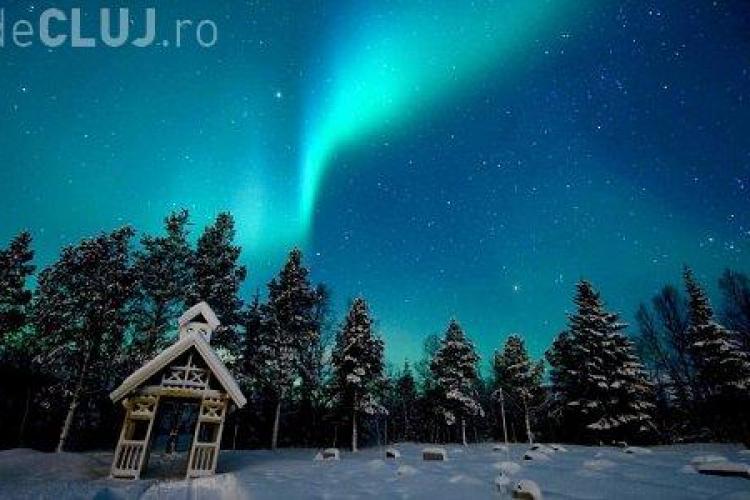 Cea mai puternica eruptie solara din ultimii cinci ani, provoaca aurore boreale in Anglia! - FOTO