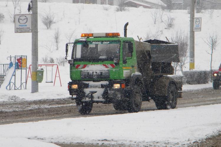 Firmele de deszapezire Rosal si Brantner nu vor fi amendate pentru drumurile inzapezite din Cluj Napoca!