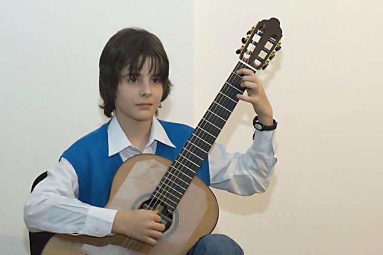"Doi elevi clujeni, premiati la Festivalul International de Chitara ""Guitar Art Festival"", Belgrad"