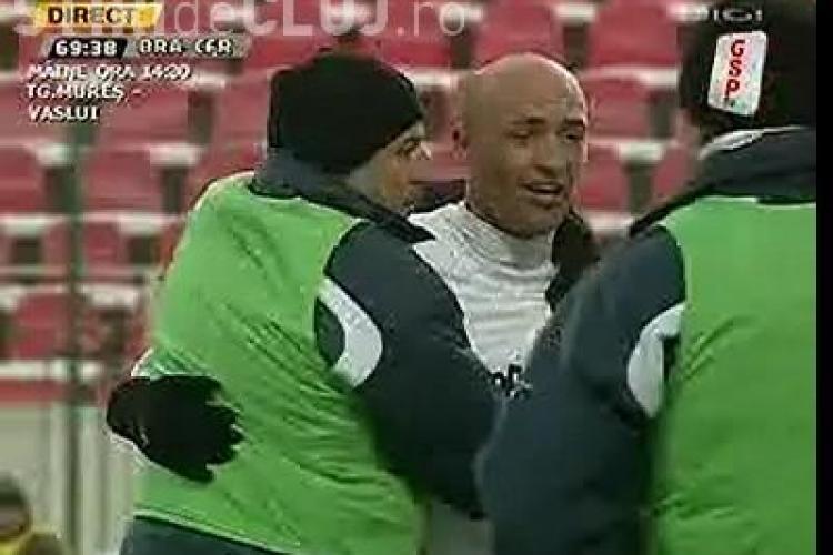 Gol Gabi Muresan! CFR Cluj - Victoria Branesti 1-1 - VIDEO