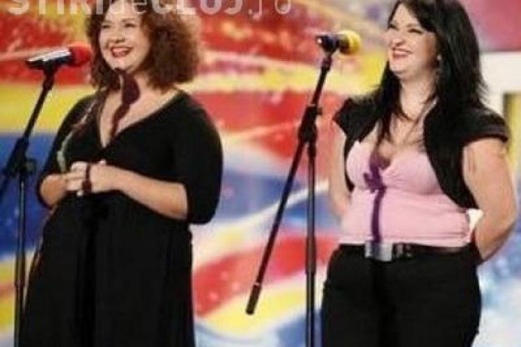 """Doua fete de la """"Romanii au talent"""" canta  Dumnezeieste si ii fac concurenta lui Iustin Ianau - VIDEO"""