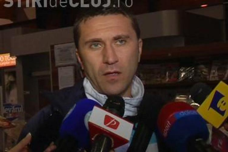 Kapetanos va juca in meciul cu Victoria Branesti. Alin Minteuan: Speram sa dea gol - VIDEO