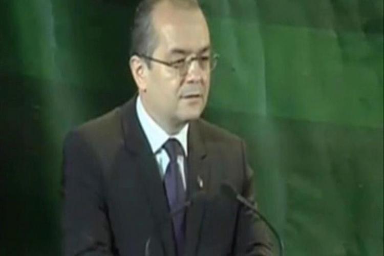 "Emil Boc la congresul UDMR: ""In 2012, vom avea o crestere economica de 4,5-5%! PDL si UMDR trebuie sa continue impreuna"" - VIDEO"