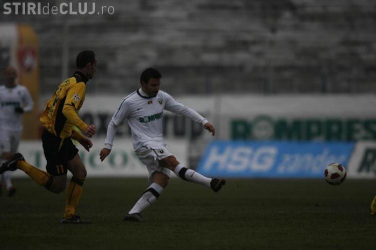 Printul Cristea a ratat un gol ca si facut la 0-0 in meciul U Cluj - FC Brasov! Vezi ce a declarat jucatorul