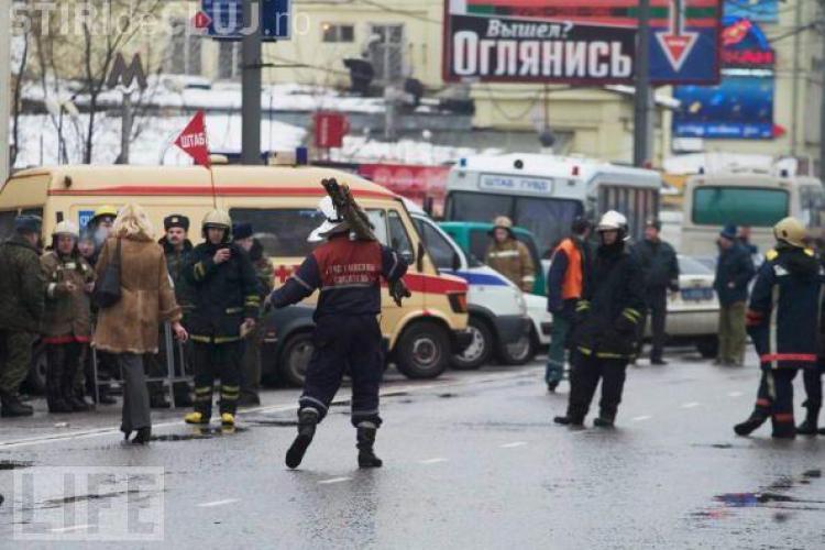 Sinucidere socanta la Moscova! Un om de afaceri a detonat o grenada in fata unui supermarket