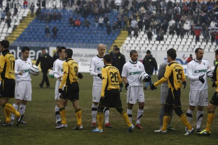 U Cluj-FC Brasov  1-1! VEZI golurile VIDEO
